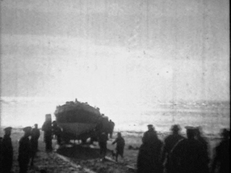 1918 Formby Lifeboat Launch Pics From Video 03