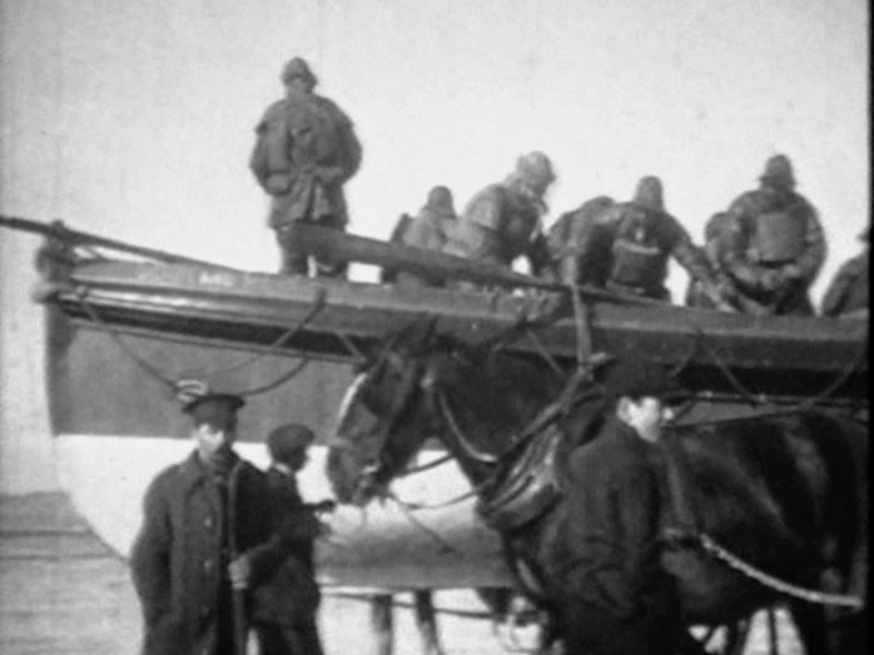 1918 Formby Lifeboat Launch Pics From Video 06