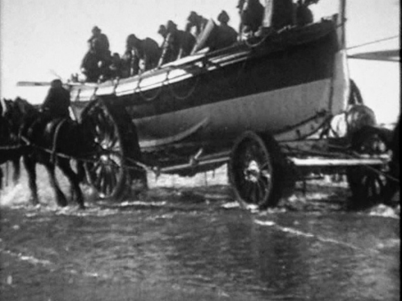 1918 Formby Lifeboat Launch Pics From Video 09