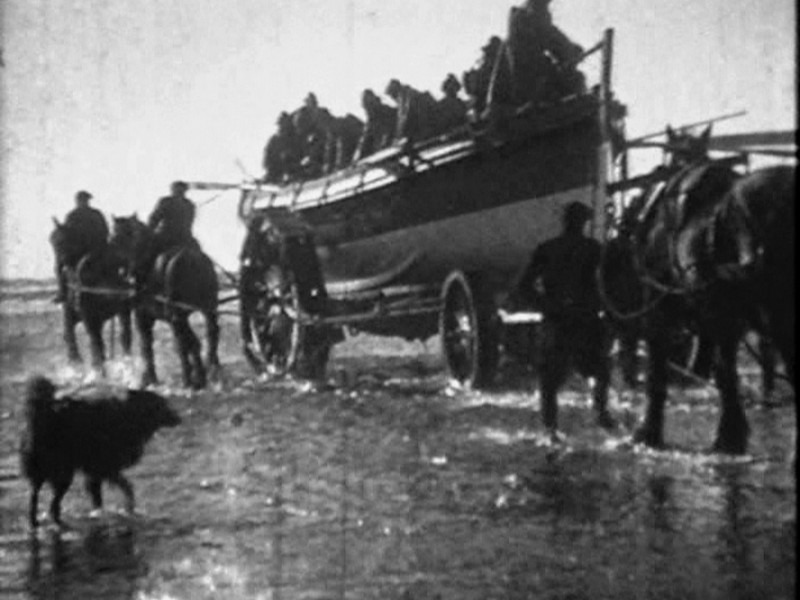 1918 Formby Lifeboat Launch Pics From Video 10