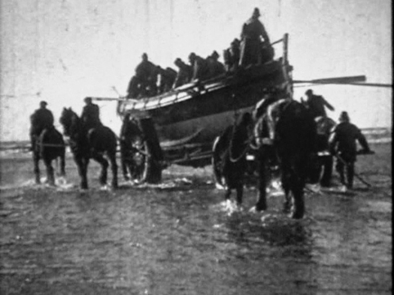 1918 Formby Lifeboat Launch Pics From Video 11