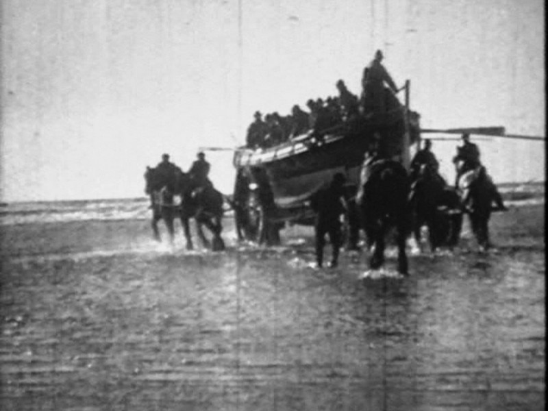 1918 Formby Lifeboat Launch Pics From Video 12